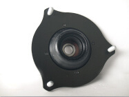 Harden rubber top mount